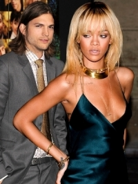 Rihanna and Ashton Kutcher 8-Week Fling Rumors!