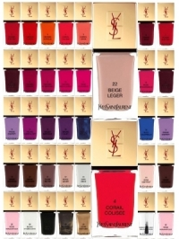 YSL La Laque Couture Nail Polish Collection
