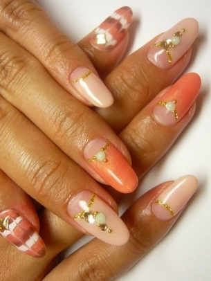 Simple Nail Art Idea