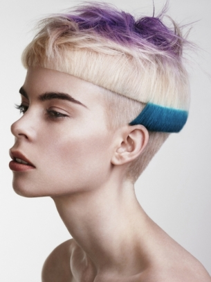 Punk Chic Hair Color