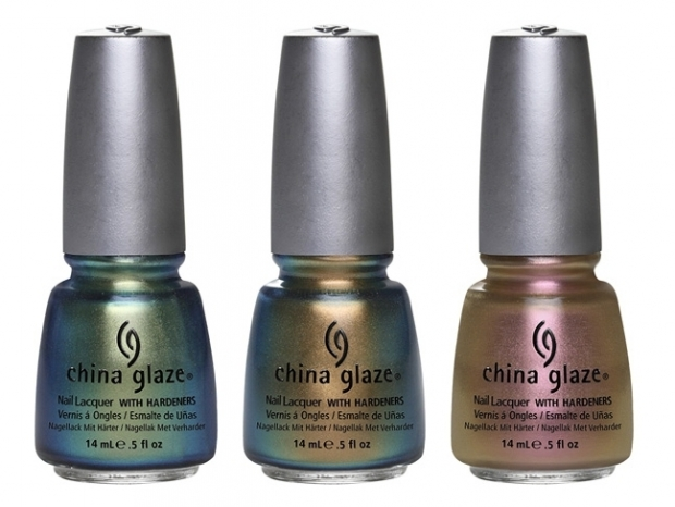 China Glaze Bohemian Luster Chrome Nail Polish Collection