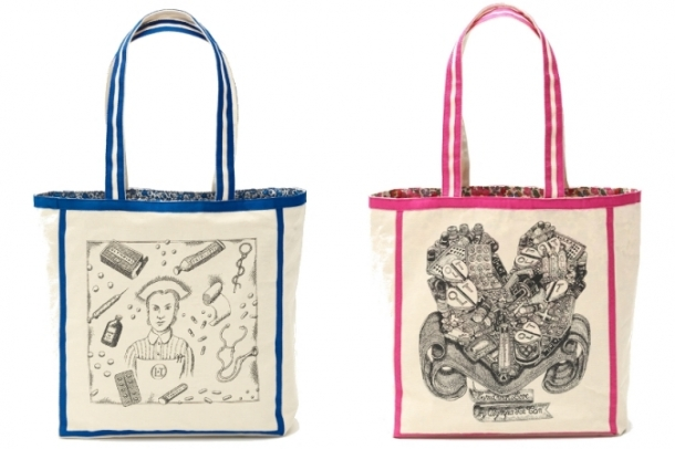 Olympia Le-Tan Spring 2012 Clutches and Bags