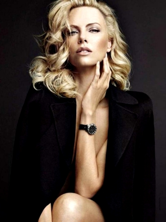 Charlize Theron Womens Health 2012