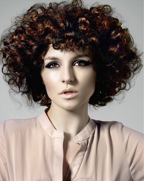 Fab High Volume Hairstyle Trends 2012 Fashion Trend