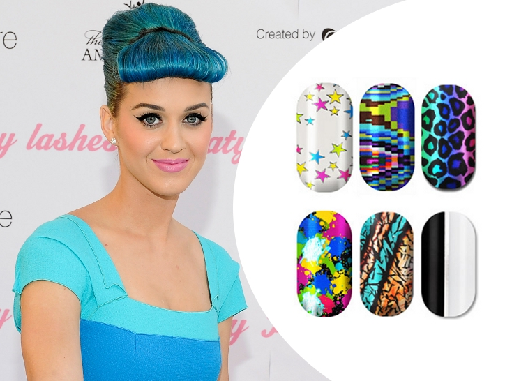 Katy Perrys Nail Artist Designs For Minx