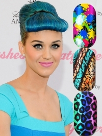 Katy Perry's Nail Artist Designs for Minx