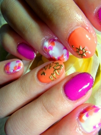 Cool Colored Nail Art Designs