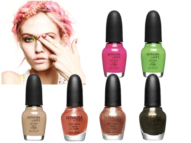 Sephora by OPI Bohemian Brights Spring 2012 Mini Nail Polish Set