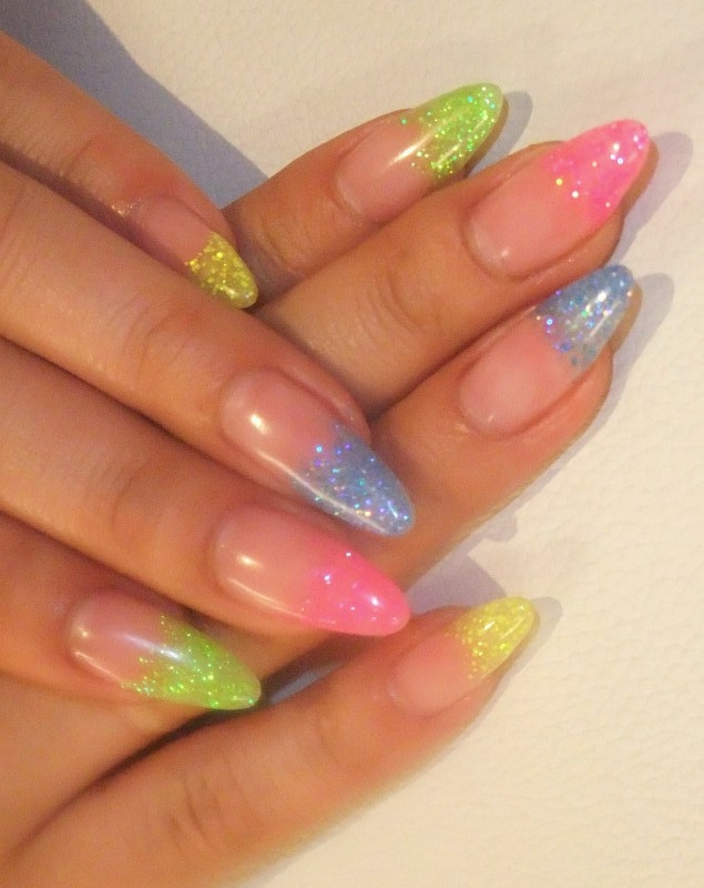Art Nail Coloring Nail Designs
