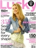 Emily VanCamp Covers Lucky June 2012