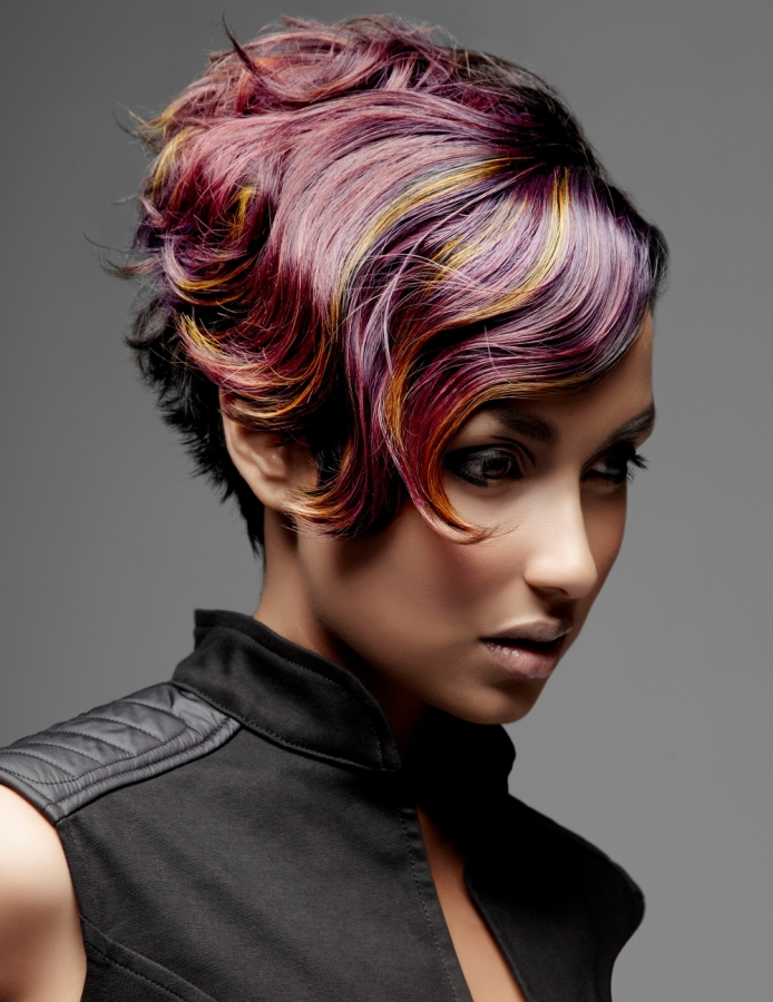 Punk Girl Hair Color Ideas 2012