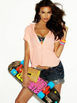 Irina Shayk for Blanco Beachwear Summer 2012 Campaign