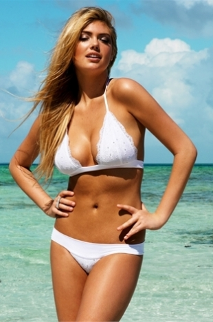 Kate Upton for Beach Bunny Bride Collection