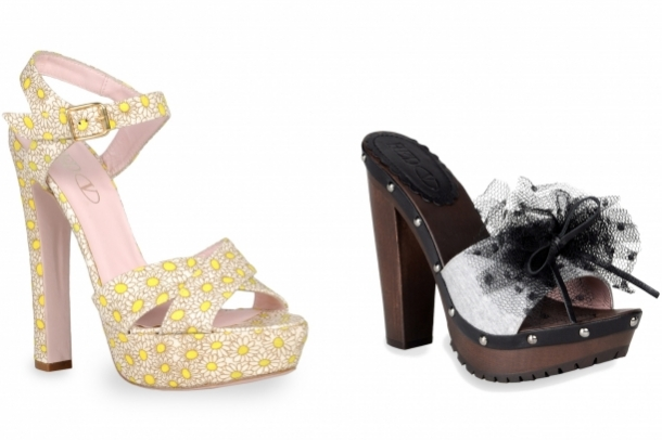 RED Valentino Spring 2012 Shoes.