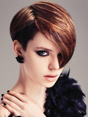 chic spring short hairstyle ideas