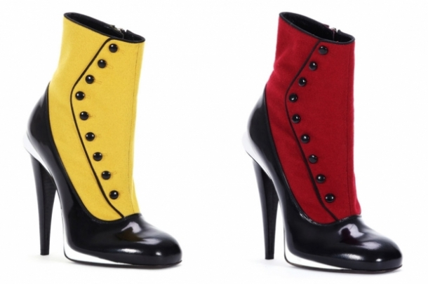 Fendi Fall 2012 Shoes Collection