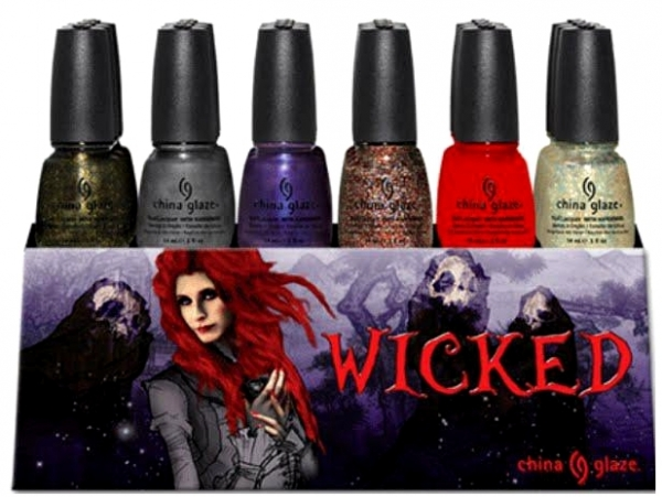 China Glaze Wicked Halloween 2012 Nail Collection