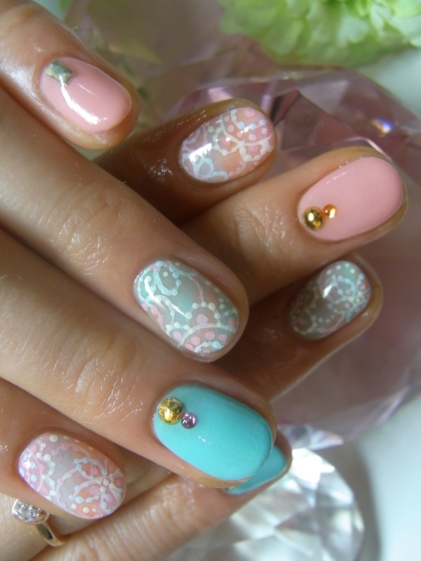 ... Summer Nail Art Idea ... - New Girly Nail Art Ideas For Summer.