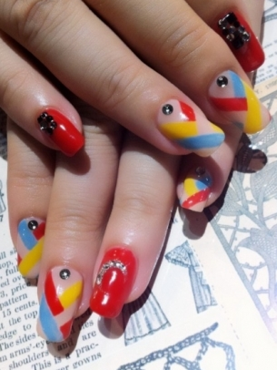 Summer Nail Art Idea