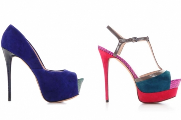 Jean-Michel Cazabat Fall 2012 Shoes