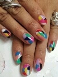 Chic Summer Nail Art Design Ideas