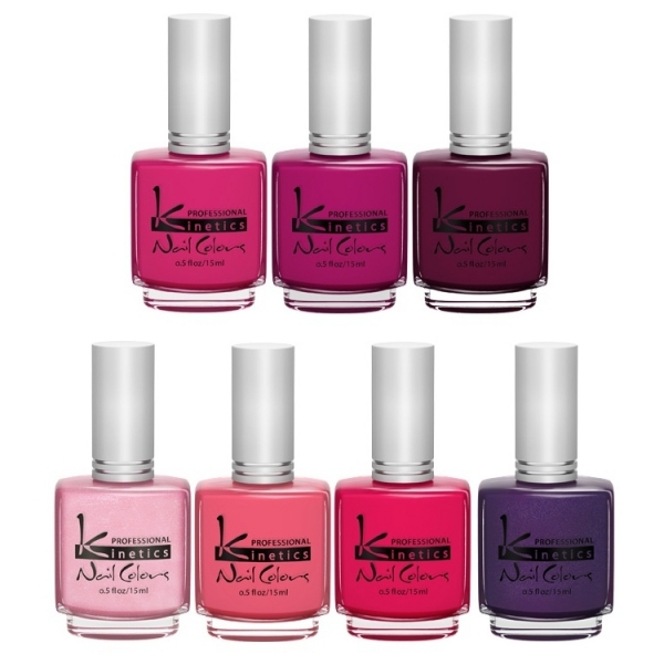 Kinetics Flirt Summer 2012 Nail Polish Collection
