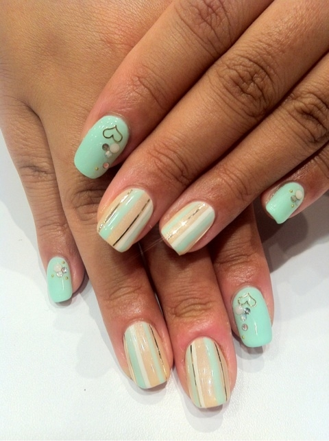 Colorful Party Nail Art Ideas