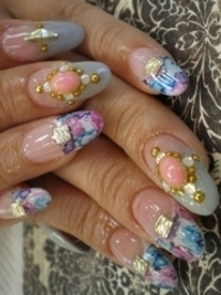 Bedazzled Nail Art Designs for Summer