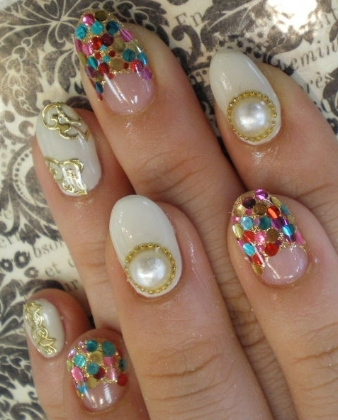 Art Designs: Bedazzled Nail Art Designs For Summer