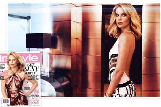Charlize Theron Covers InStyle June 2012