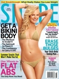 Malin Akerman Talks Diet and Fitness Routine with SHAPE June 2012