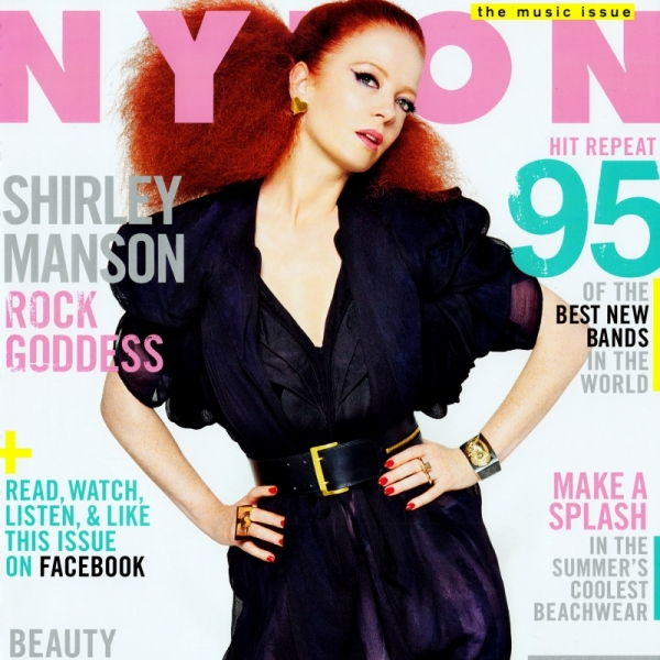 Shirley Manson Covers NYLON June/July 2012