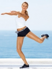 Stacy Keibler Talks Healthy Lifestyle with Self