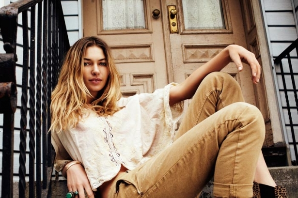Jessica Hart for Maison Scotch