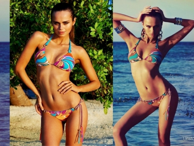 Xenia Deli for Beach Bunny Swimwear 2012 Collection