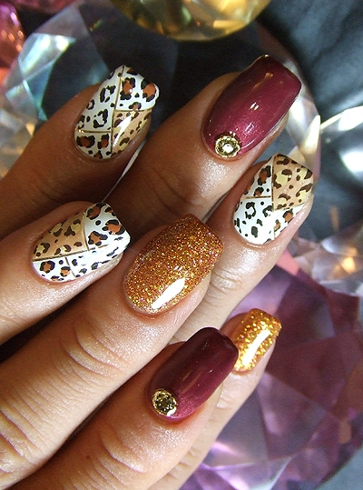 Animal Print Nail Art Ideas For Summer