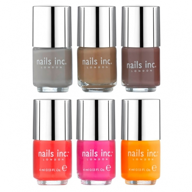 Nails Inc Neon & Nude Collection S/S 2012