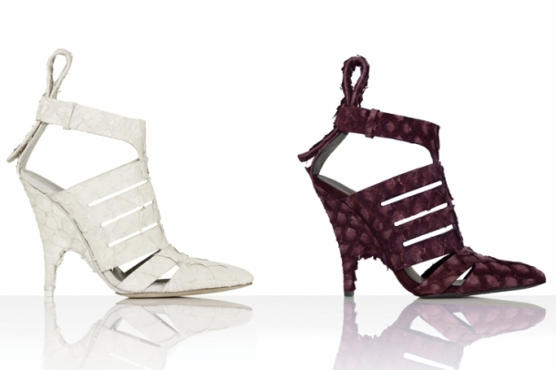 Alexander Wang Spring 2012 Shoes Collection