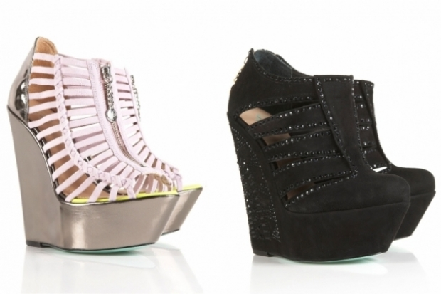 Chloe Green Shoes for Topshop