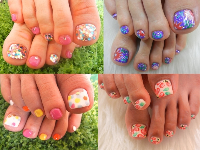 Pedicure Nail Art Designs For Summer