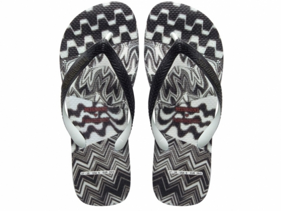 Missoni x Havaianas Flip-Flops Summer 2012 Collection