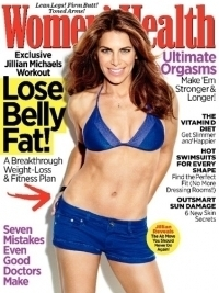 Jillian Michaels Reveals 4 Tummy Troubles in Women's Health June 2012