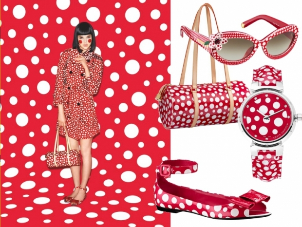 Yayoi Kusama for Louis Vuitton Acessories Collection