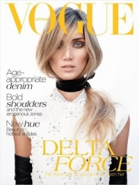 Delta Goodrem Covers Vogue Australia July 2012