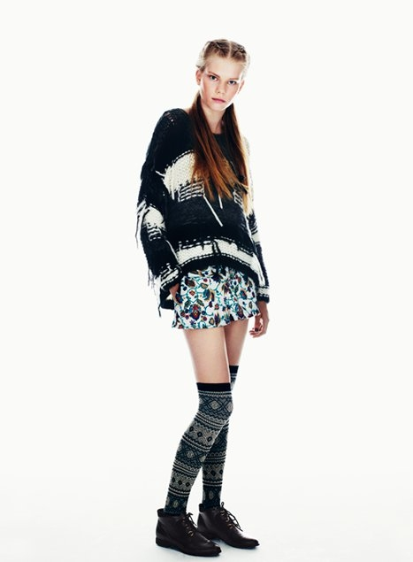 Topshop Scandi Girl Fall 2012 Collection