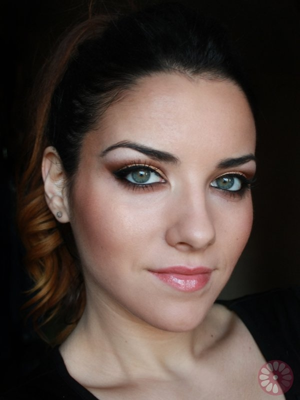 Very Best Party Eye Makeup Using Gold Copper 600 x 800 · 142 kB · jpeg