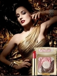 Artdeco Dita von Teese Golden Vintage Holiday 2012 Makeup Collection