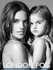 Alessandra Ambrosio and Daughter for London Fog Campaign