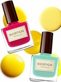 Scotch Naturals Eco-Friendly Nail Polish Collection