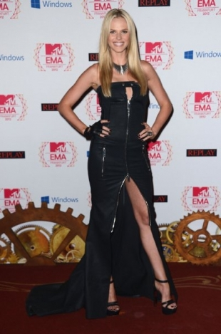 Anne V Dress 2012 MTV EMAs Red Carpet